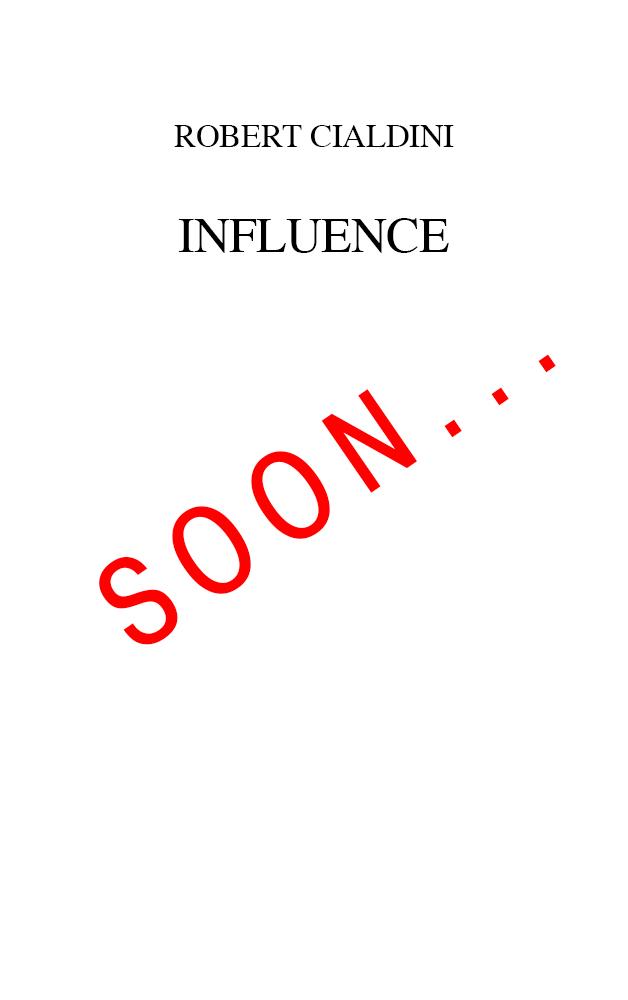 Cialdini---Influence